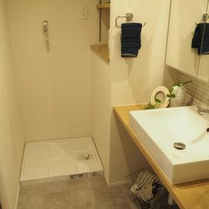 新宿内藤町ハウス(7階,)の化粧室・脱衣所・洗面室