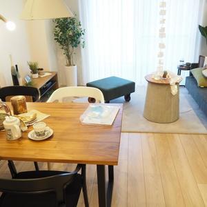 新宿内藤町ハウス(7階,)の居間(リビング・ダイニング・キッチン)