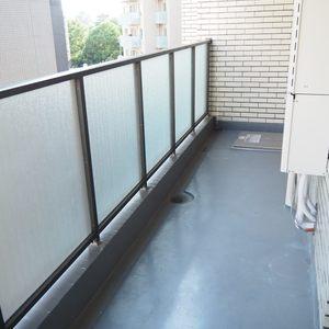 新宿内藤町ハウス(7階,)のバルコニー