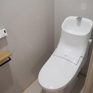 ダイアパレス御苑前(2階,)のトイレ