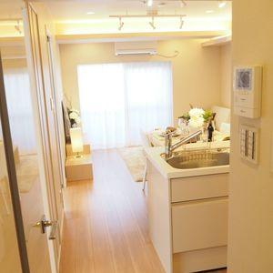 ベラビスタ信濃町(4階,3980万円)の居間(リビング・ダイニング・キッチン)