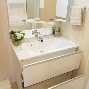 ベラビスタ信濃町(4階,3980万円)の化粧室・脱衣所・洗面室