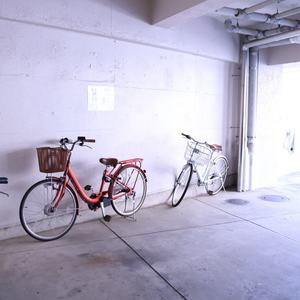 駒込コーポラスの駐輪場