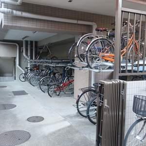 ムサシノコート浅草橋の駐輪場