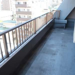 ムサシノコート浅草橋(10階,3599万円)のルーフバルコニー