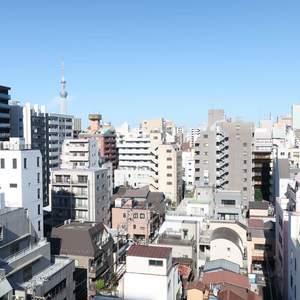 ムサシノコート浅草橋(10階,3599万円)のお部屋からの眺望