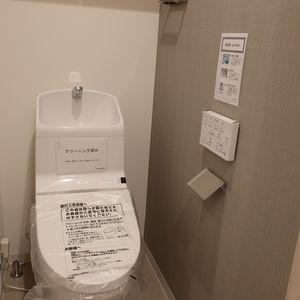 柳橋リバーサイドマンション(6階,)のトイレ