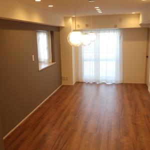 柳橋リバーサイドマンション(6階,)の居間(リビング・ダイニング・キッチン)