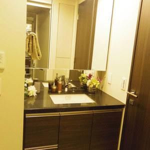 ザパークハウス中野タワー(16階,8980万円)の化粧室・脱衣所・洗面室