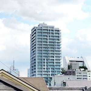 ザパークハウス中野タワーの外観