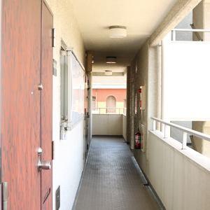 藤和白山コープ(4階,)のフロア廊下(エレベーター降りてからお部屋まで)