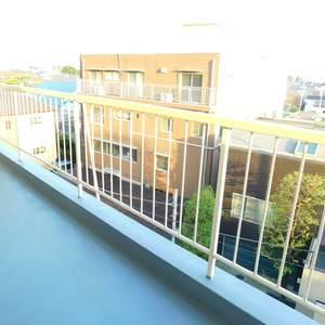 目白ハイビル(4階,3499万円)のバルコニー