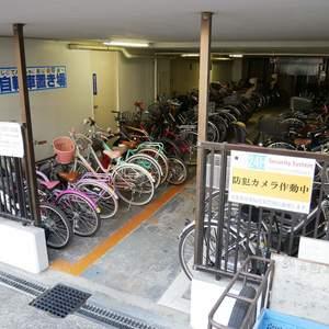 錦糸町第2ローヤルコーポの駐輪場