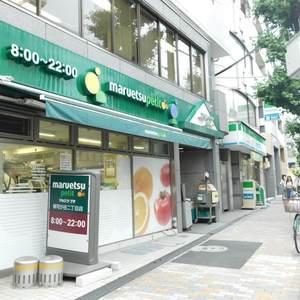 プチモンド目白の周辺の食品スーパー、コンビニなどのお買い物