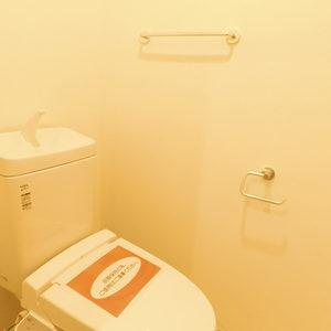 プチモンド目白(4階,)のトイレ