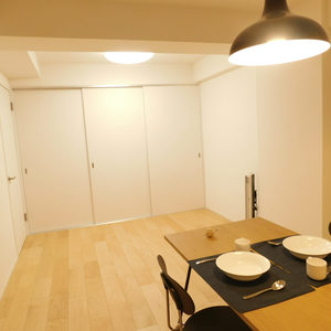 プチモンド目白(4階,)の居間(リビング・ダイニング・キッチン)