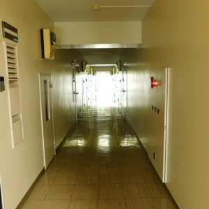 ソフトタウン池袋(9階,)のフロア廊下(エレベーター降りてからお部屋まで)