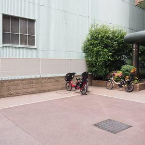 グランシティ天王洲アイルの駐輪場