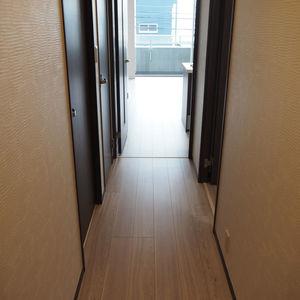 スカイクレストビュー芝浦(2階,)のお部屋の廊下