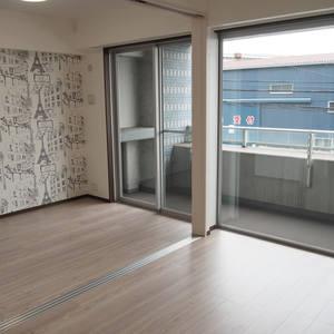 スカイクレストビュー芝浦(2階,5470万円)の居間(リビング・ダイニング・キッチン)