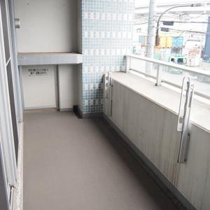 スカイクレストビュー芝浦(2階,5470万円)のバルコニー