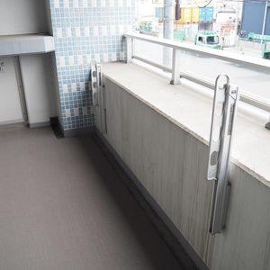 スカイクレストビュー芝浦(2階,)のバルコニー