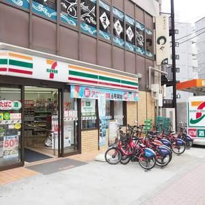 ローレルプラザ田町の周辺の食品スーパー、コンビニなどのお買い物