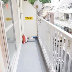 エル・アルカサル三田(4階,3249万円)のバルコニー