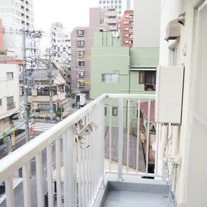 エル・アルカサル三田(4階,)のバルコニー