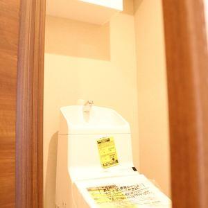 パラスト白山(9階,)のトイレ