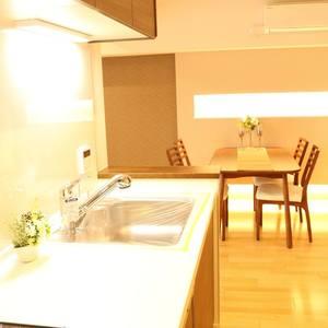 パラスト白山(9階,)の居間(リビング・ダイニング・キッチン)