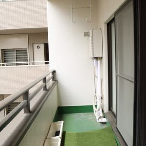 ドリーム小石川(4階,)のバルコニー