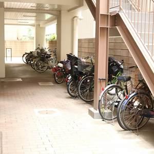ドリーム小石川の駐輪場