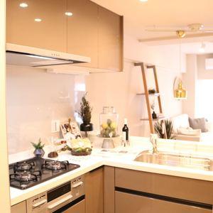ドリーム小石川(4階,)のキッチン