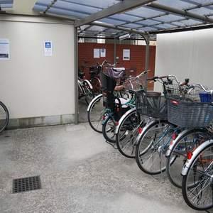 シャルム錦糸町の駐輪場