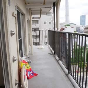 シャルム錦糸町(8階,)のバルコニー