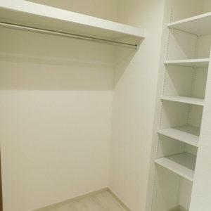 パークコート中落合(2階,)のウォークインクローゼット