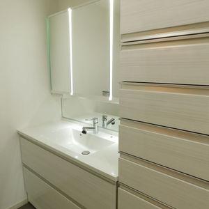 パークコート中落合(2階,7990万円)の化粧室・脱衣所・洗面室