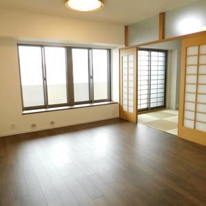 サンクタスデュオ下落合コートA(7階,5380万円)の居間(リビング・ダイニング・キッチン)