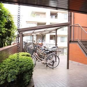 マンション小石川の駐輪場