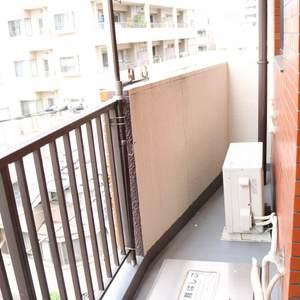 マンション小石川(4階,)のバルコニー