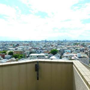 池袋西アムフラット(10階,)のバルコニー