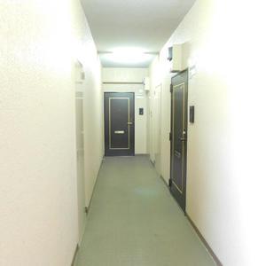 セザール池袋要町(3階,3799万円)のフロア廊下(エレベーター降りてからお部屋まで)