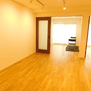 池袋ウエストハイツ(1階,)の居間(リビング・ダイニング・キッチン)