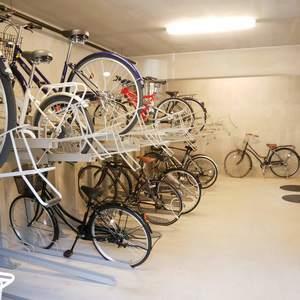 ルリオン錦糸町エグゼの駐輪場