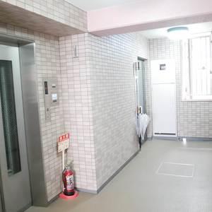 アドゥスイール両国石原(3階,3780万円)のフロア廊下(エレベーター降りてからお部屋まで)