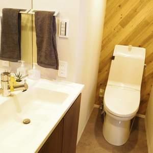 中野住研コーポ(3階,2499万円)の化粧室・脱衣所・洗面室