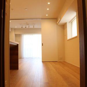 クオリア後楽園(2階,4580万円)の居間(リビング・ダイニング・キッチン)