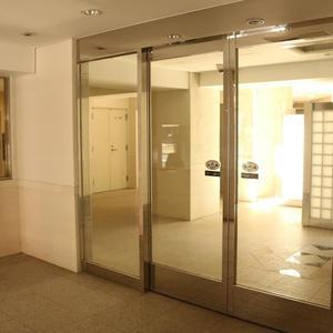 クオリア後楽園のマンションの入口・エントランス