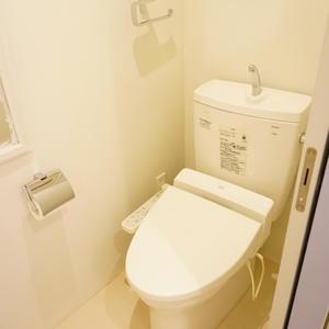 シャトレ市ヶ谷(9階,3780万円)のトイレ